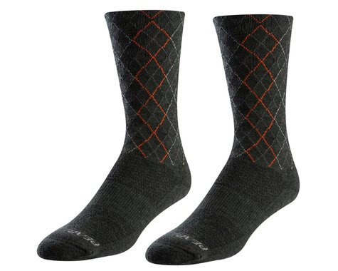 Pearl Izumi Merino Thermal Wool Socks (Forest/Flame Crossing)