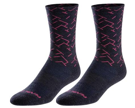 Pearl Izumi Merino Thermal Wool Socks (Navy Sashiko Fade) (S)