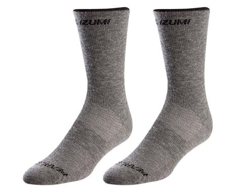 Pearl Izumi Merino Wool Tall Socks (Smoked Pearl Core) (L)