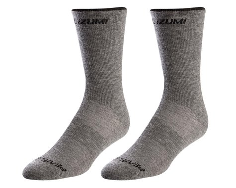 Pearl Izumi Merino Wool Tall Socks (Smoked Pearl Core) (XL)