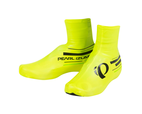 Pearl Izumi Pro Barrier Lite Shoe Covers (Screaming Yellow/Screaming Gre)