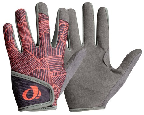 Pearl Izumi Jr Long Finger Mountain Gloves (Phantom/Fiery Coral Lucent)