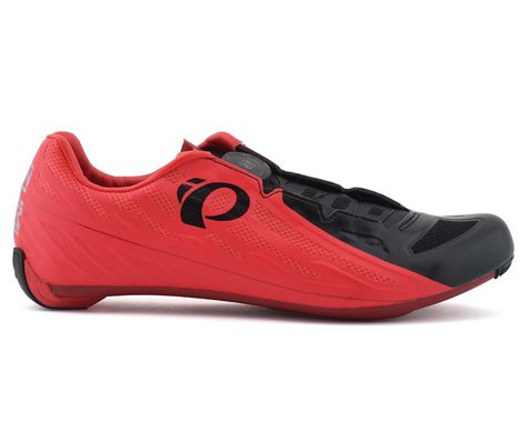 Pearl Izumi Race Road V5 Shoes (Red/Black) (44)