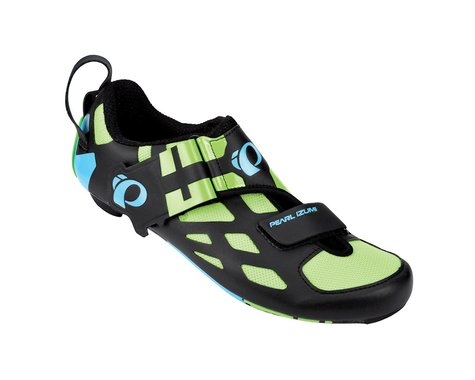 Pearl Izumi Tri Fly V Carbon Triathlon Shoes (Black)