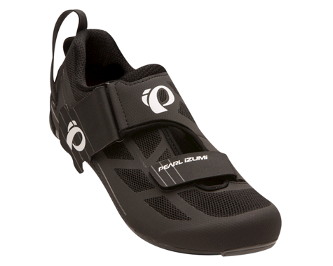 Pearl Izumi Tri Fly Select V6 Tri Shoes (Black/Shadow Grey) (39)
