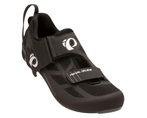 Pearl Izumi Tri Fly Select V6 Triathlon Shoes (Black/Shadow Gray) (41)
