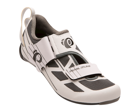 Pearl Izumi Women's Tri Fly Select v6 Tri Shoes (White/Shadow Grey) (39)