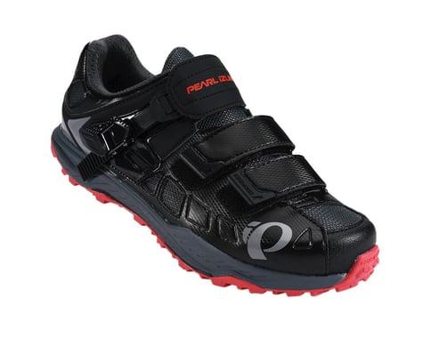 Pearl Izumi Women's X-Alp Enduro V5 MTB Shoes (Black/Red) (40)