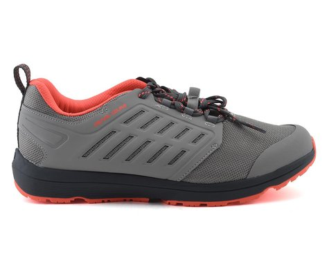 Pearl Izumi Women's X-ALP Canyon Mountain Shoes (Wet Weather/Fiery Coral) (41)