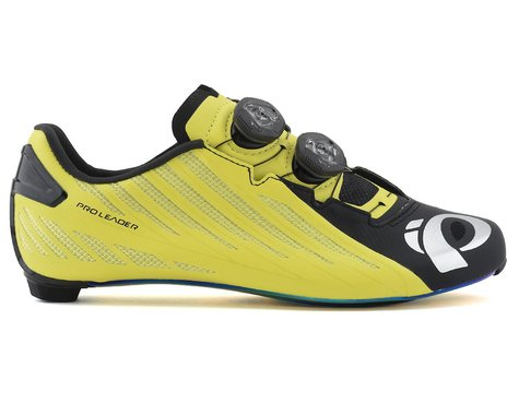 Pearl Izumi PRO Leader v4 Shoes (Black/Lime) (40.5)