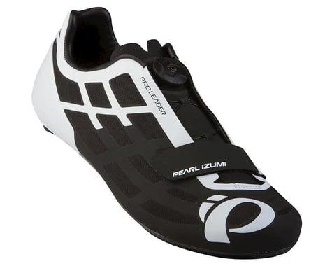 Pearl Izumi P.R.O. Leader Road Cycling Shoe: Black Men's Euro 42