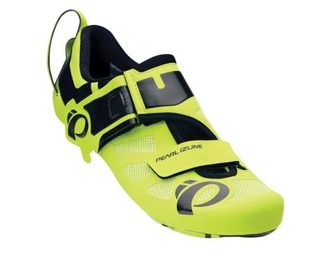 Pearl Izumi Tri Fly Octane II Triathlon Shoes (Black / Green) (43)