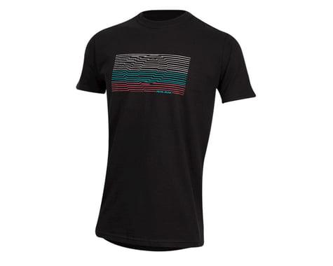 Pearl Izumi Organic Cotton T-Shirt (Lines Logo Black) (L)