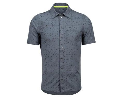 Pearl Izumi Rove Short Sleeve Shirt (Turbulence Forks) (L)