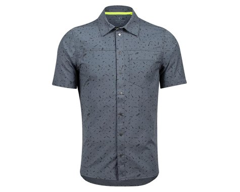 Pearl Izumi Rove Short Sleeve Shirt (Turbulence Forks) (M)