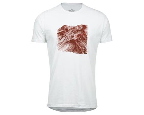 Pearl Izumi Go-To Tee Shirt (White Mountain) (S)
