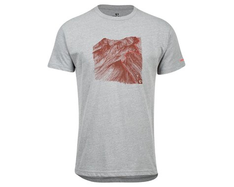 Pearl Izumi Go-To Tee Shirt (Heather Grey Mountain) (S)