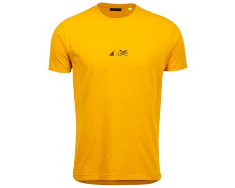 Pearl Izumi Go-To Tee Shirt (Gold Lean It) (S)