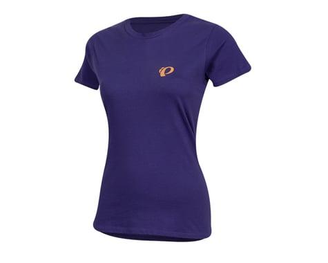 Pearl Izumi Women's Organic Cotton Crewneck T-Shirt (Sunset Wheel Iris)