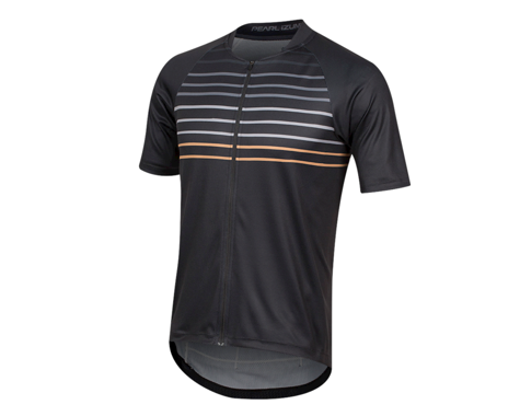 Pearl Izumi Canyon Graphic Short Sleeve Jersey (Black/Berm Brown Slope) (L)