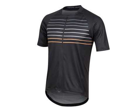 Pearl Izumi Canyon Graphic Short Sleeve Jersey (Black/Berm Brown Slope) (XL)