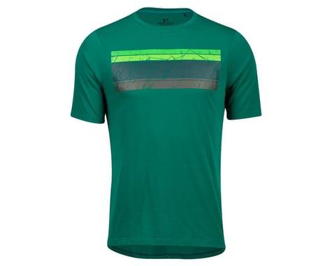 Pearl Izumi Mesa T-Shirt (Alpine Green Sacred Mountain) (M)