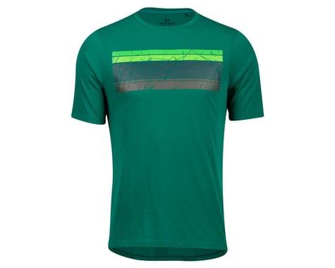 Pearl Izumi Mesa T-Shirt (Alpine Green Sacred Mountain) (S)