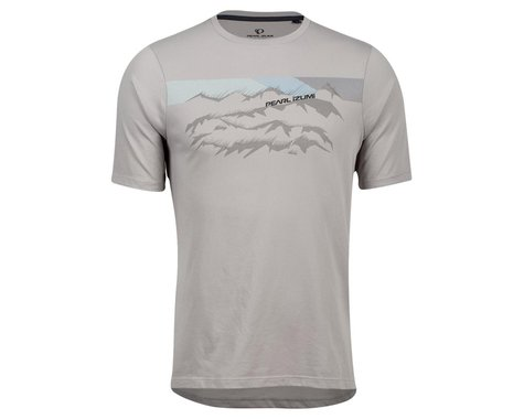 Pearl Izumi Mesa T-Shirt (Wet Weather Mountain Range) (2XL)