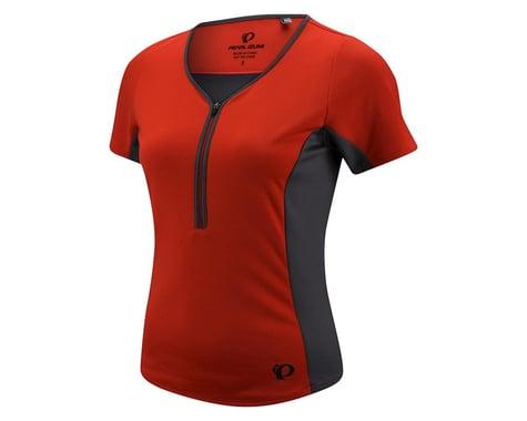 Pearl Izumi Women's Canyon Short Sleeve Jersey (Coral) (Xlarge)