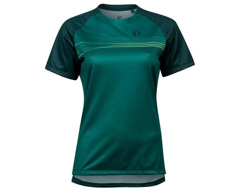 Pearl Izumi Women's Summit Short Sleeve Jersey (Alpine Green/Pine Radian) (M)