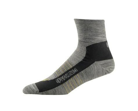 Pearl Izumi Elite Wool Socks (Grey) (Large)