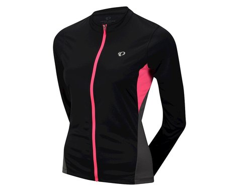 Pearl Izumi Women's Select Long Sleeve Jersey (Black/Pink) (Xxlarge)
