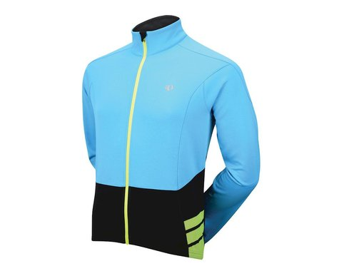Pearl Izumi Elite Thermal Long Sleeve Jersey (Bri Blu) (Xlarge)