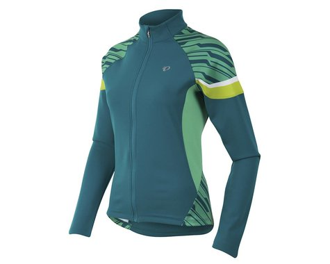 Pearl Izumi Women's Elite Thermal Jersey (Black/Living Coral)