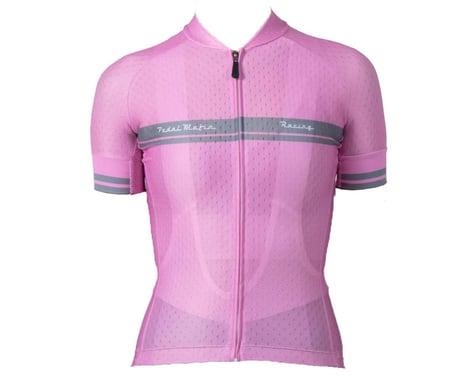 Pedal Mafia Women's Core Short Sleeve Jersey (Pink) (S)