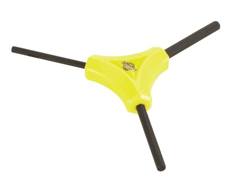 Pedro's Y Hex Wrench Including 2, 2.5, 3mm Sizes, Yellow