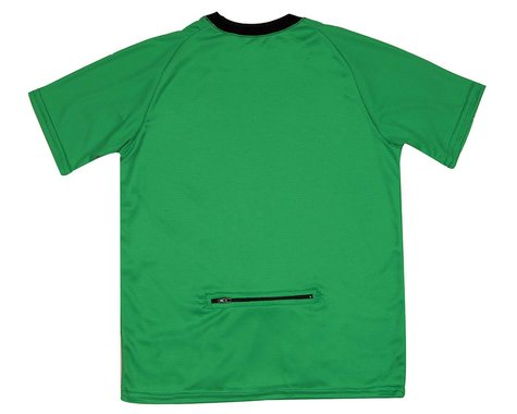 Performance Kids Mountain Short Sleeve Tee (Green)