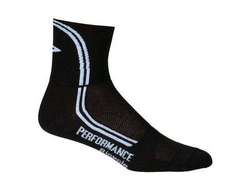 Performance DeFeet D-Line Socks - Performance Exclusive (Black)