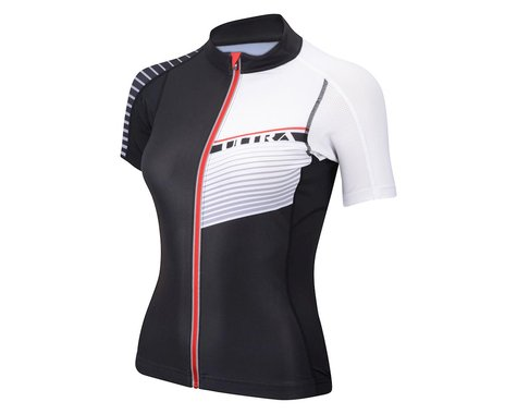Performance Women's Ultra Short Sleeve Jersey (Black)