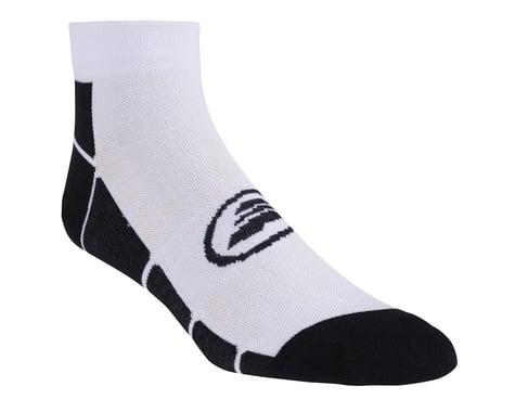 Performance Box Low Socks (Black/White)