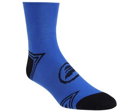 Performance Triangle Ankle Socks (Blue/Matte Black)