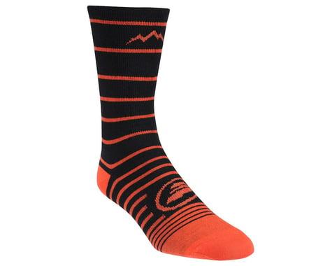 Performance Mountain Tall Socks (Black/Orange)