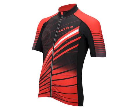 Performance Ultra Short Sleeve Jersey (Black/Red)