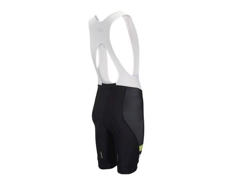 Performance Elite Team Bib Shorts - 2017 (White/Black/Green)