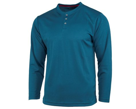 Performance Long Sleeve Club Fed Jersey (Blue) (S)