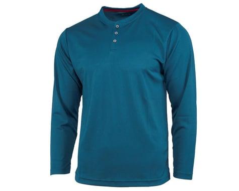 Performance Long Sleeve Club Fed Jersey (Blue) (2XL)