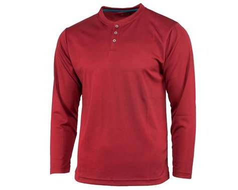 Performance Long Sleeve Club Fed Jersey (Red) (L)