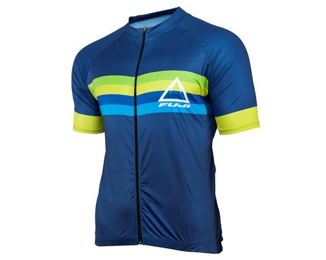 Performance Men's Elite Short Sleeve Jersey (Navy/FS) (S)