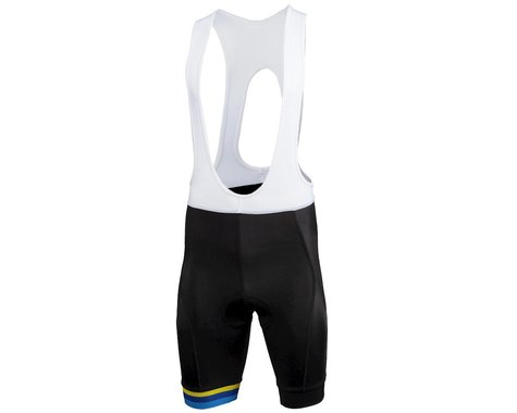Performance Men's Elite Bib (Black/FS) (L)