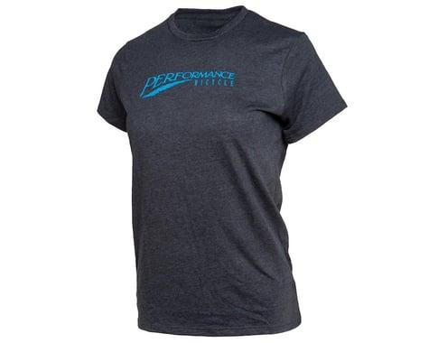 Performance Bicycle Women's Retro T-Shirt (Black) (L)